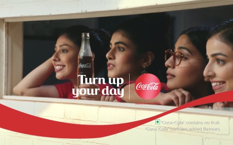 CocaCola可口可乐 - Turn up your day with CocaCola