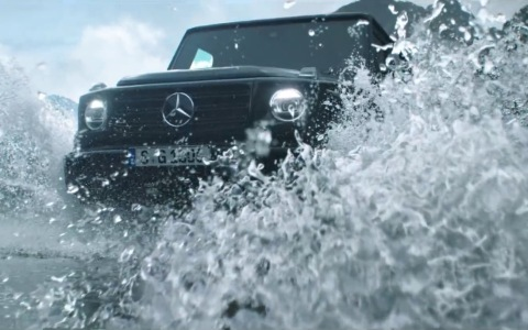 Mercedes-Benz奔驰 - G-Class 2018- Stronger Than Time.